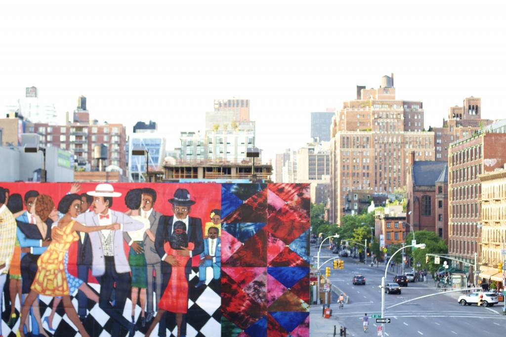 City art from the Meatpacking District in Manhattan