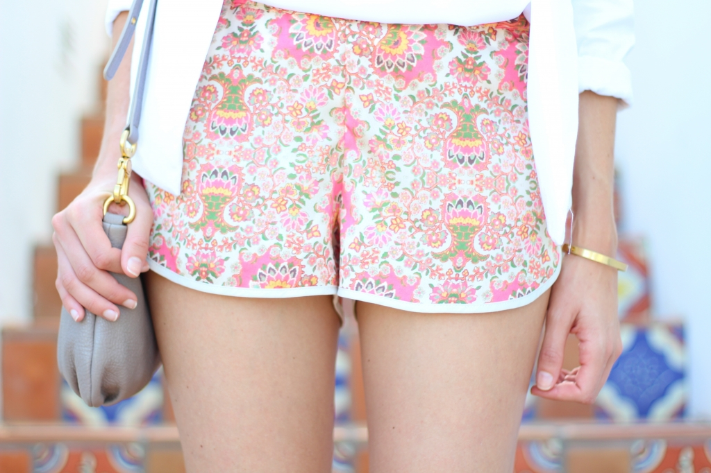 Sam&Lavi Printed Shorts