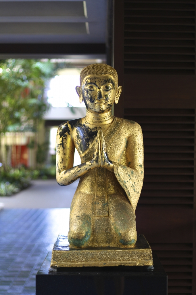 Gold Buddha at the Mauna Kea Beach Hotel