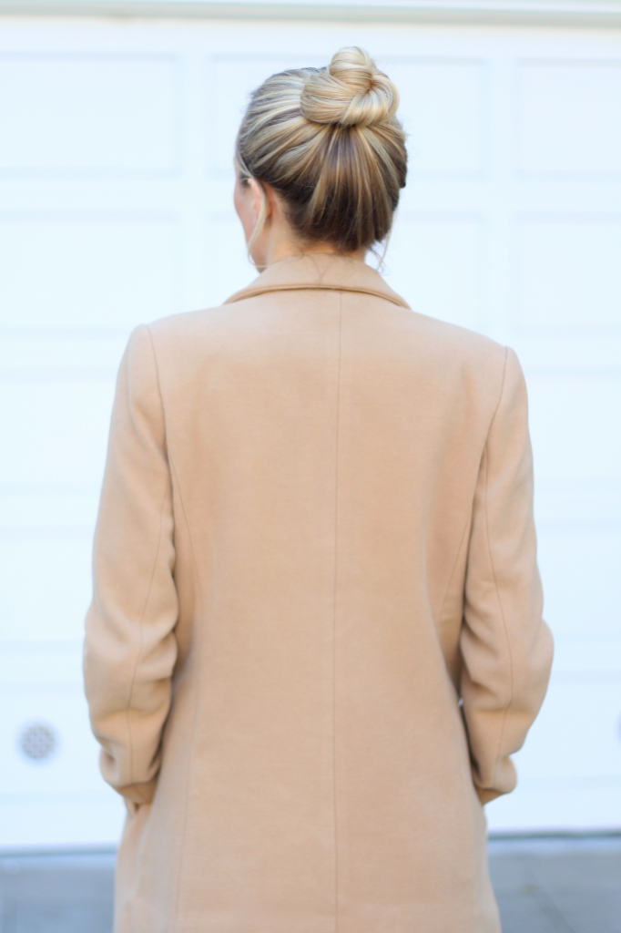 Camel coat I Adorned With Love
