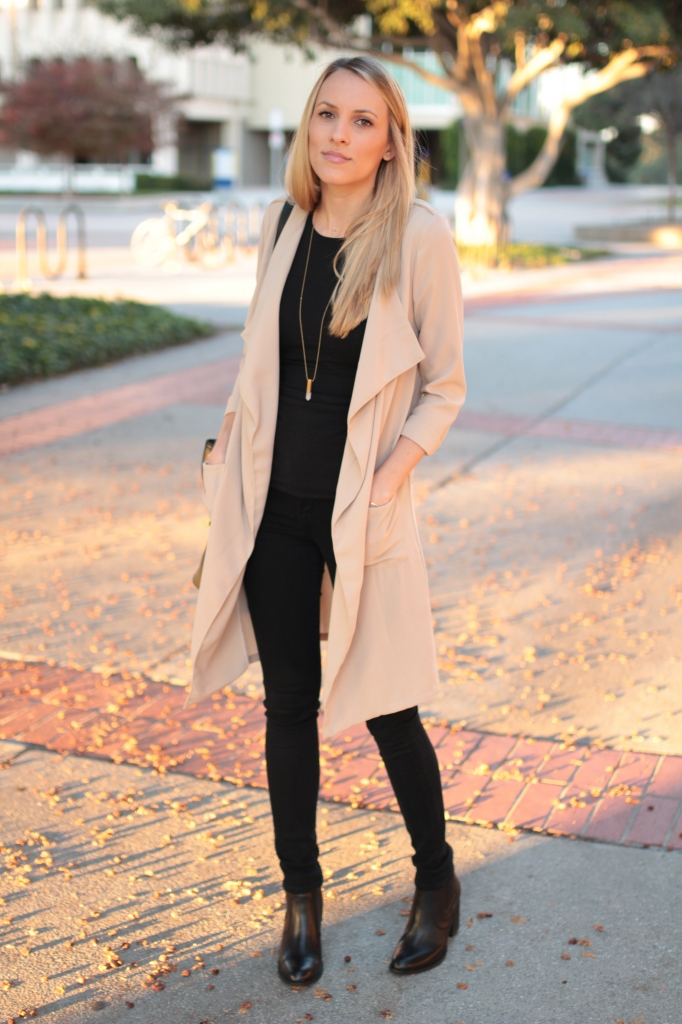 Loose Beige Trench Coat I Adorned With Love