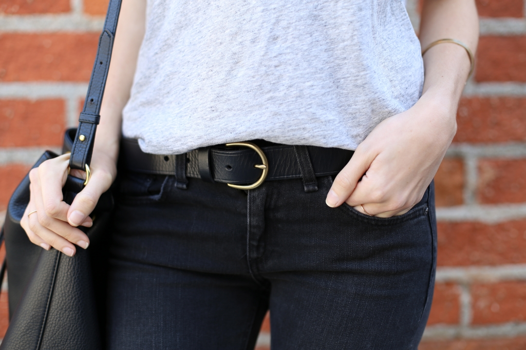 Leather Madewell belt I Adorned With Love