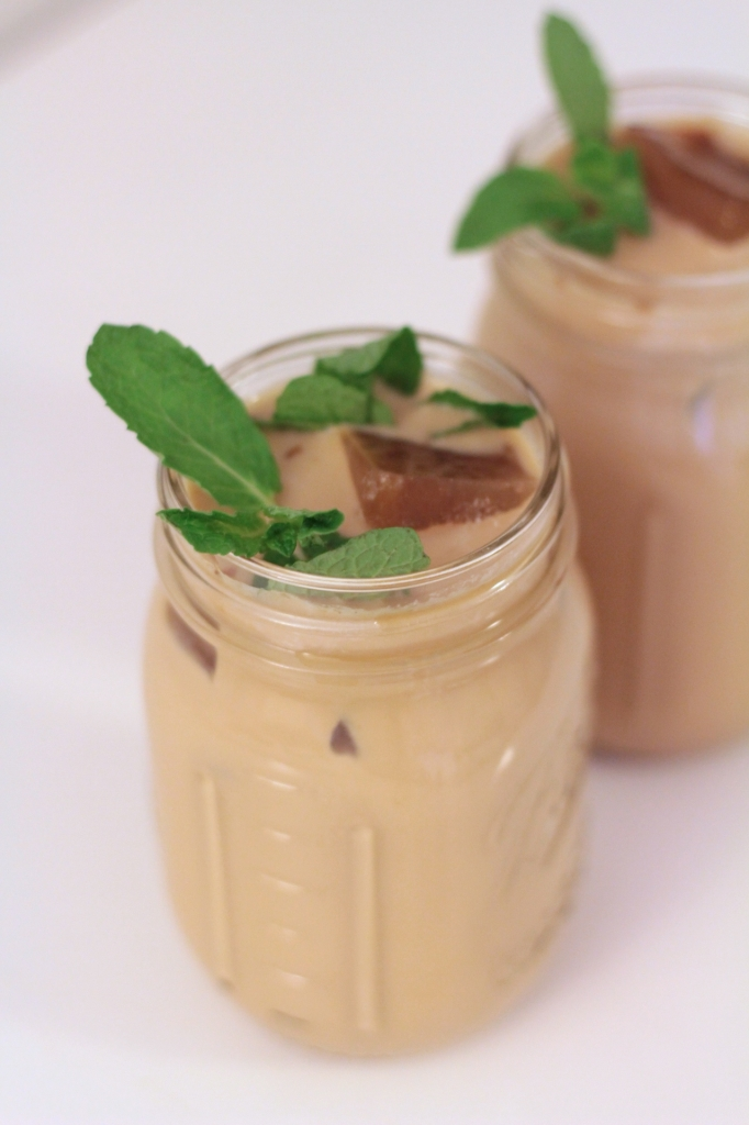 Mint Mojito Iced Coffee I www.adornedwithlove.com