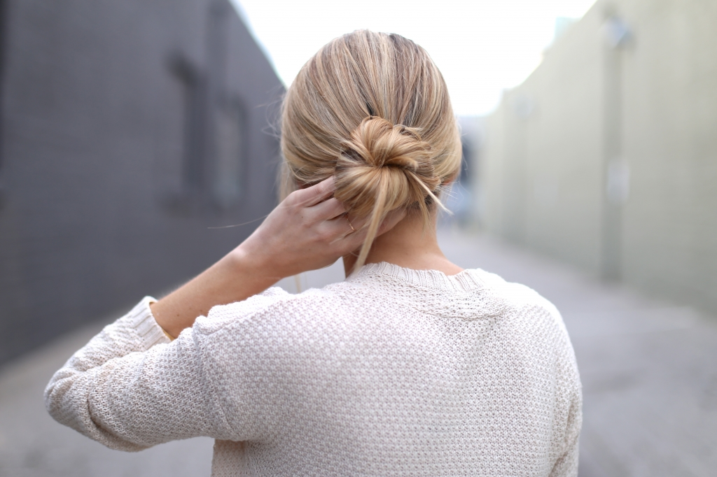 Low bun I Adorned With Love