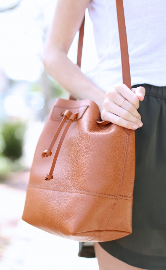 Downing Bucket Bag by J.Crew I Adorned With Love