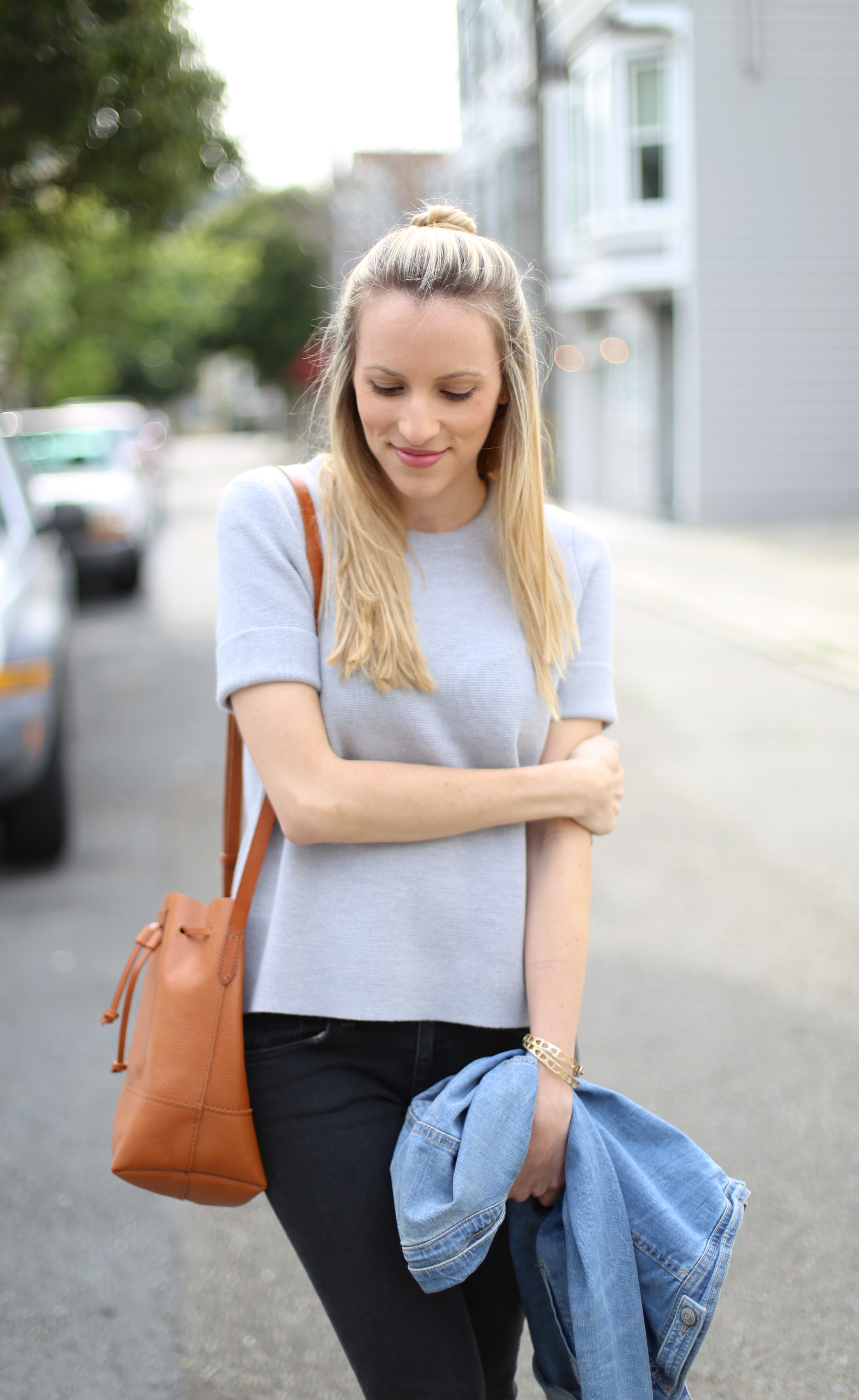 Short-Sleeve Sweater I Adorned With Love