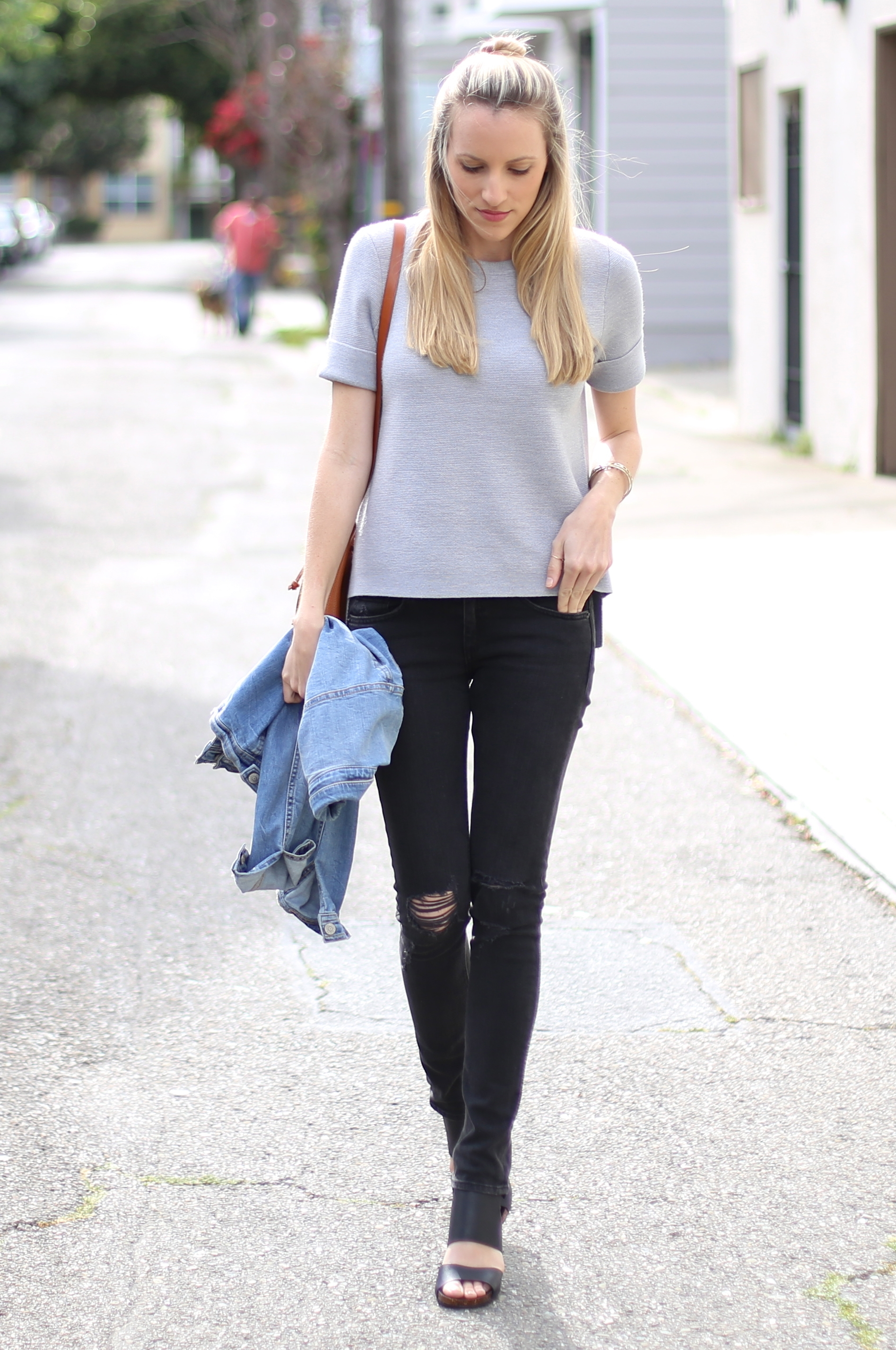 Short-Sleeve Madewell Sweater