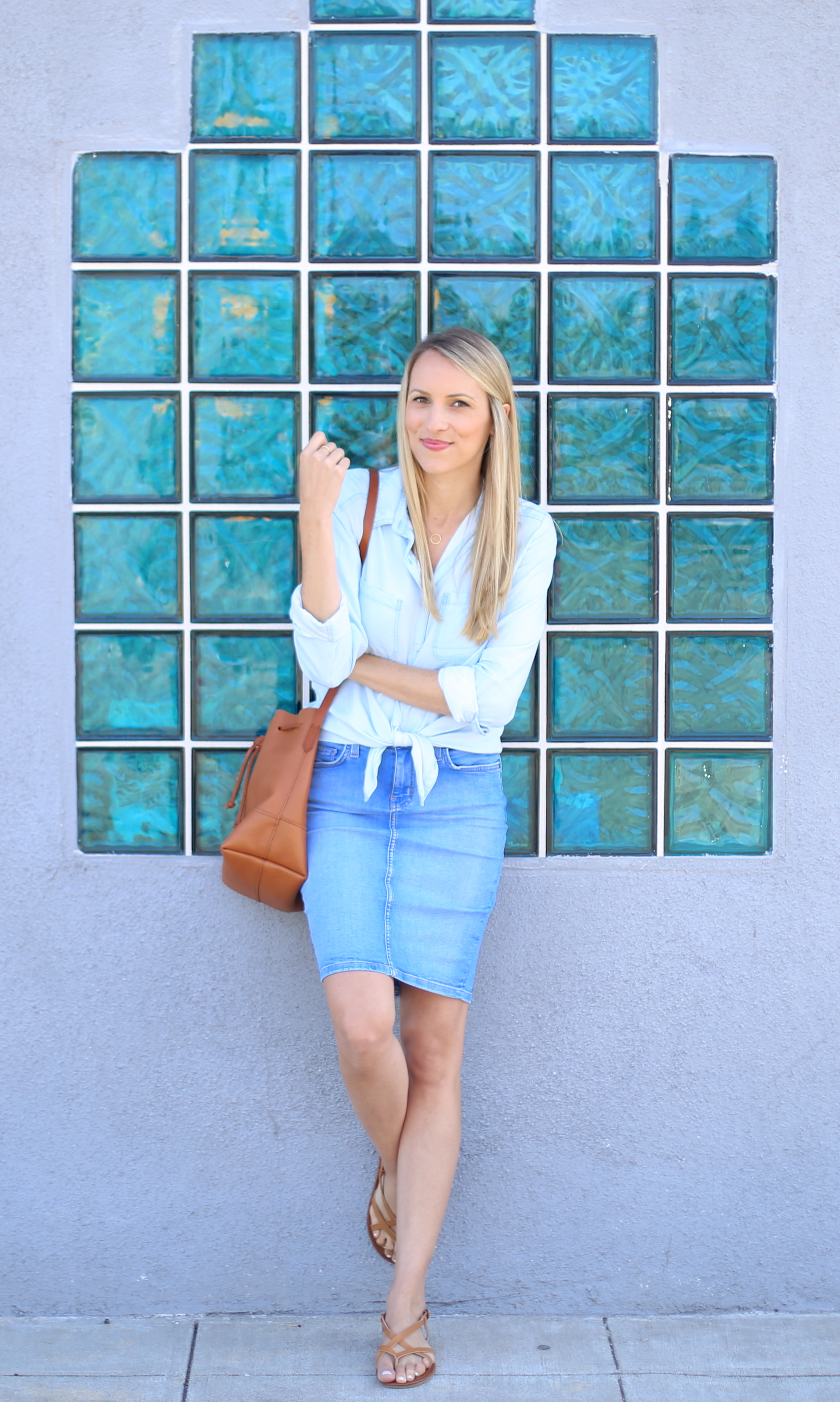 How to wear denim on denim I Adorned With Love