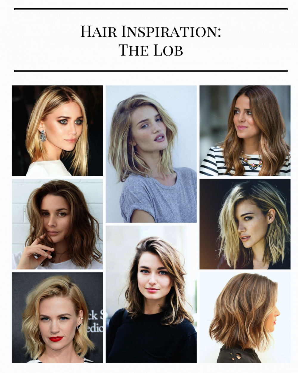 Hair Inspiration: The Lob