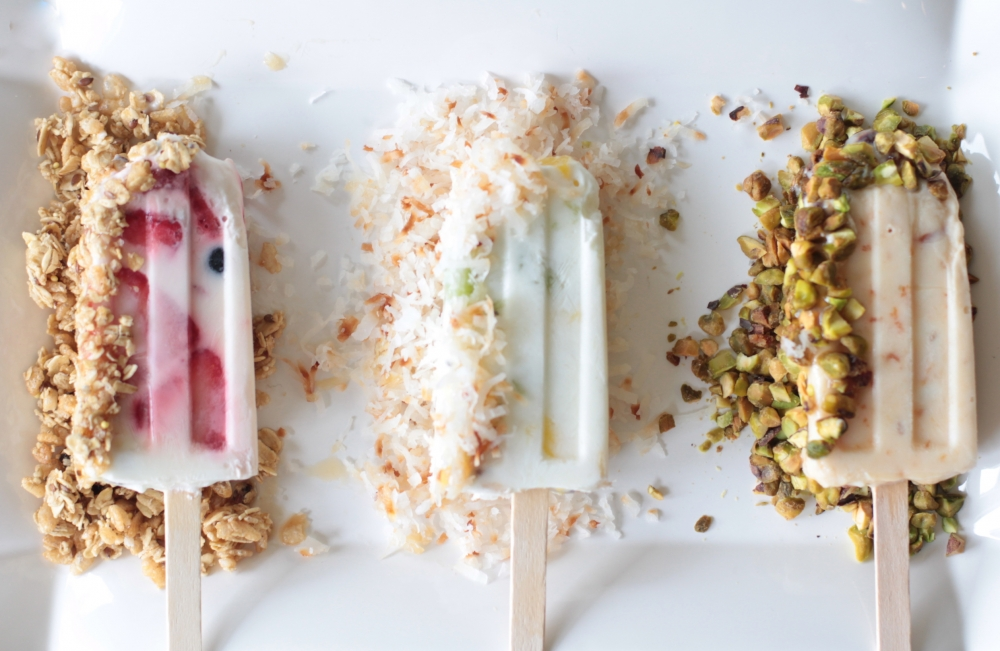 Fruit & Yogurt Breakfast Popsicles I Adorned With Love