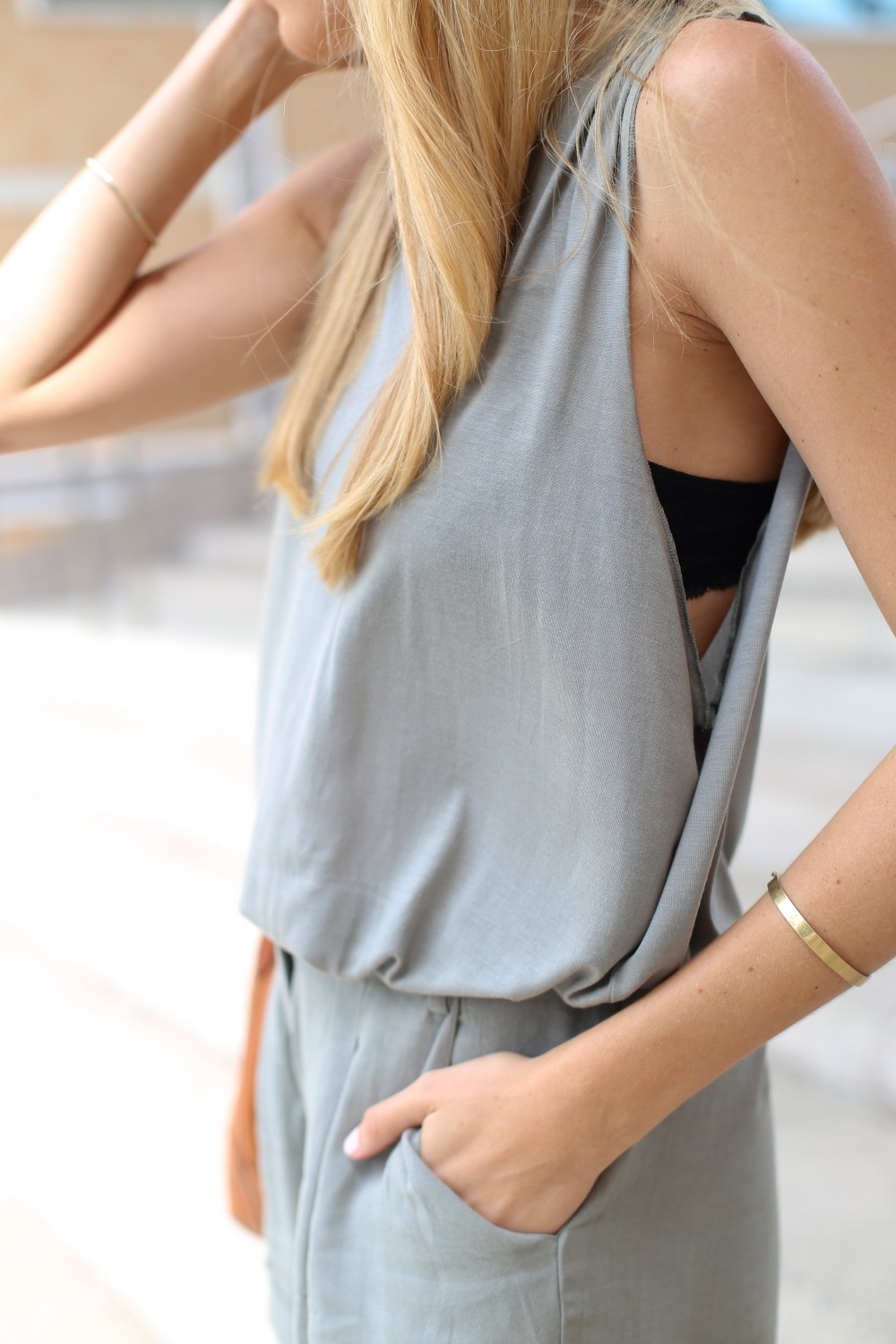 Neutral monochromatic outfit - Adorned With Love