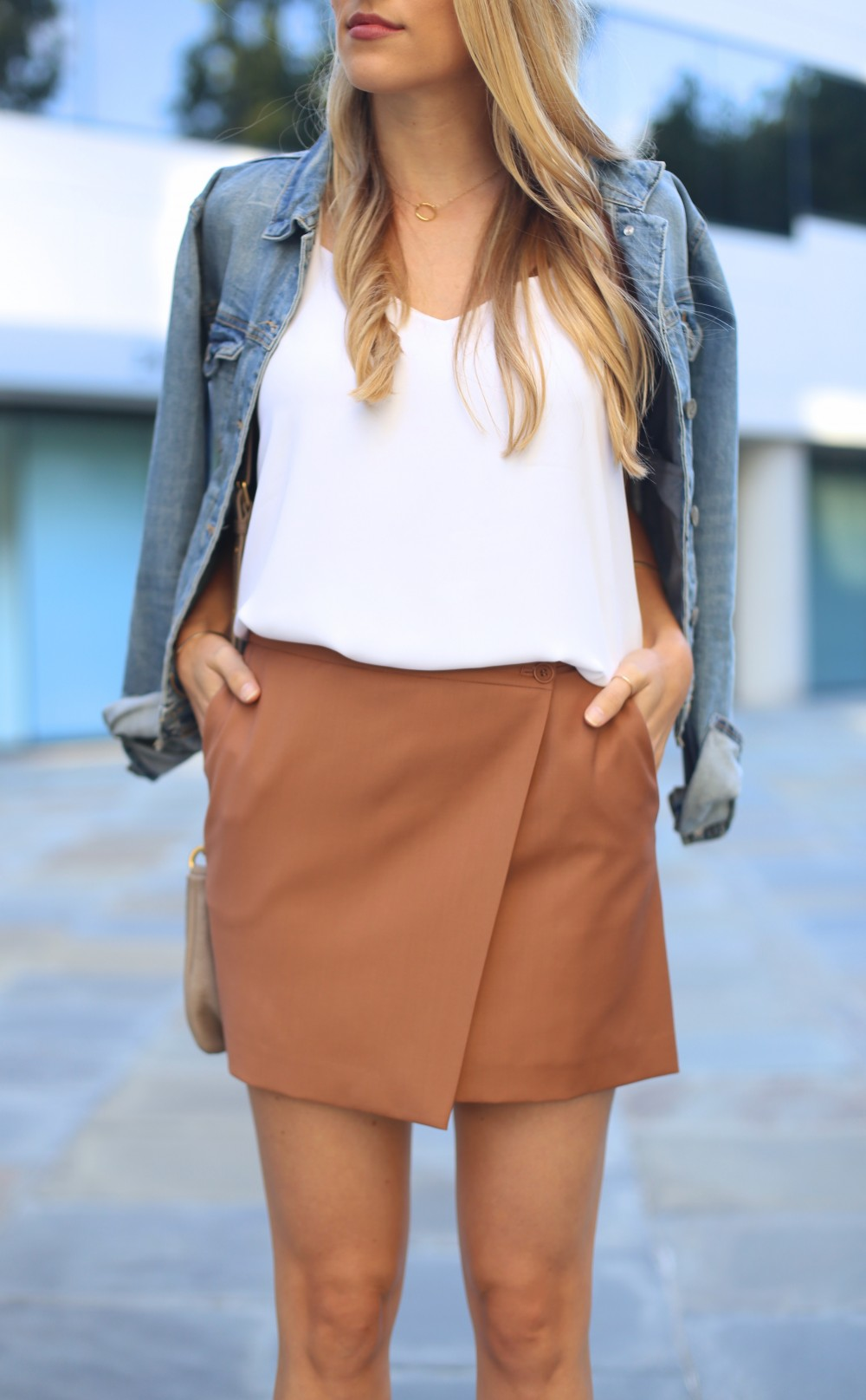 Layered neutrals I Adorned With Love