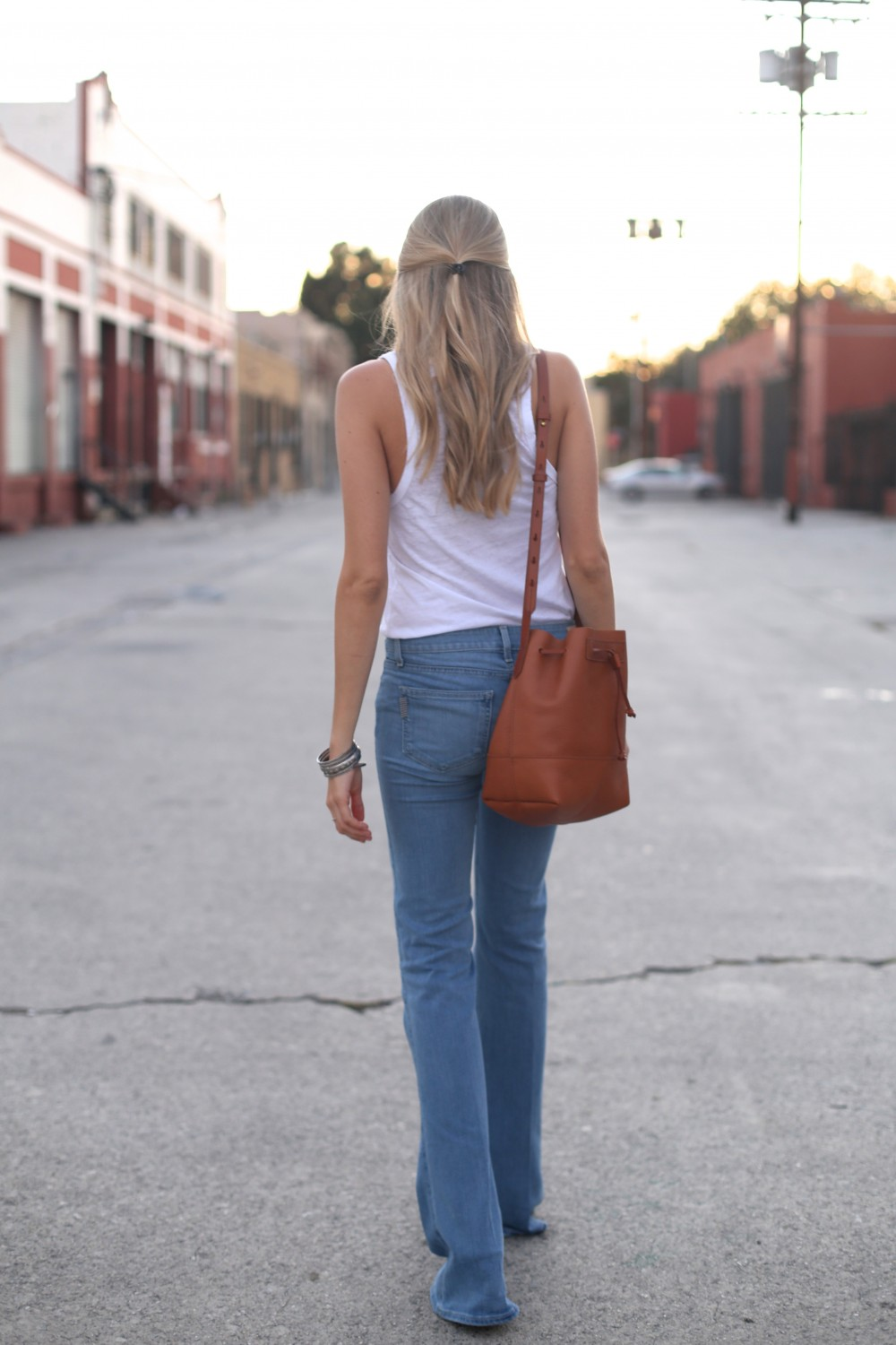 Light flare jeans I Adorned With Love