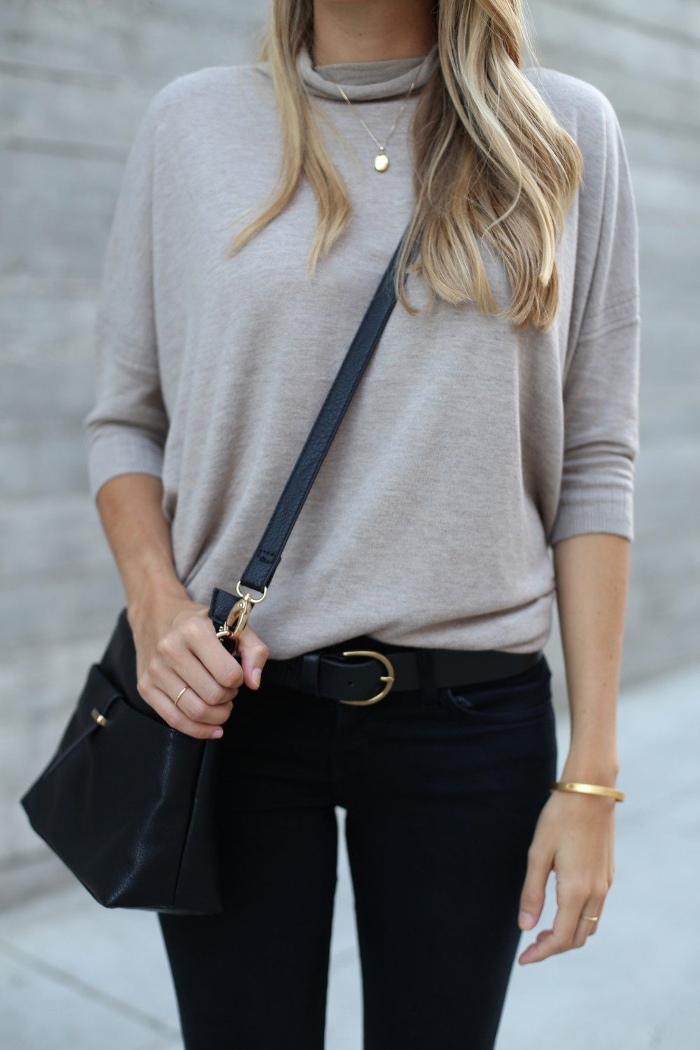 Lightweight turtleneck sweater for fall - Adorned With Love