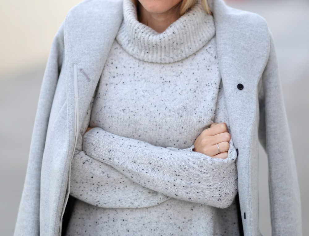 Monochromatic grey on grey | Adorned With Love
