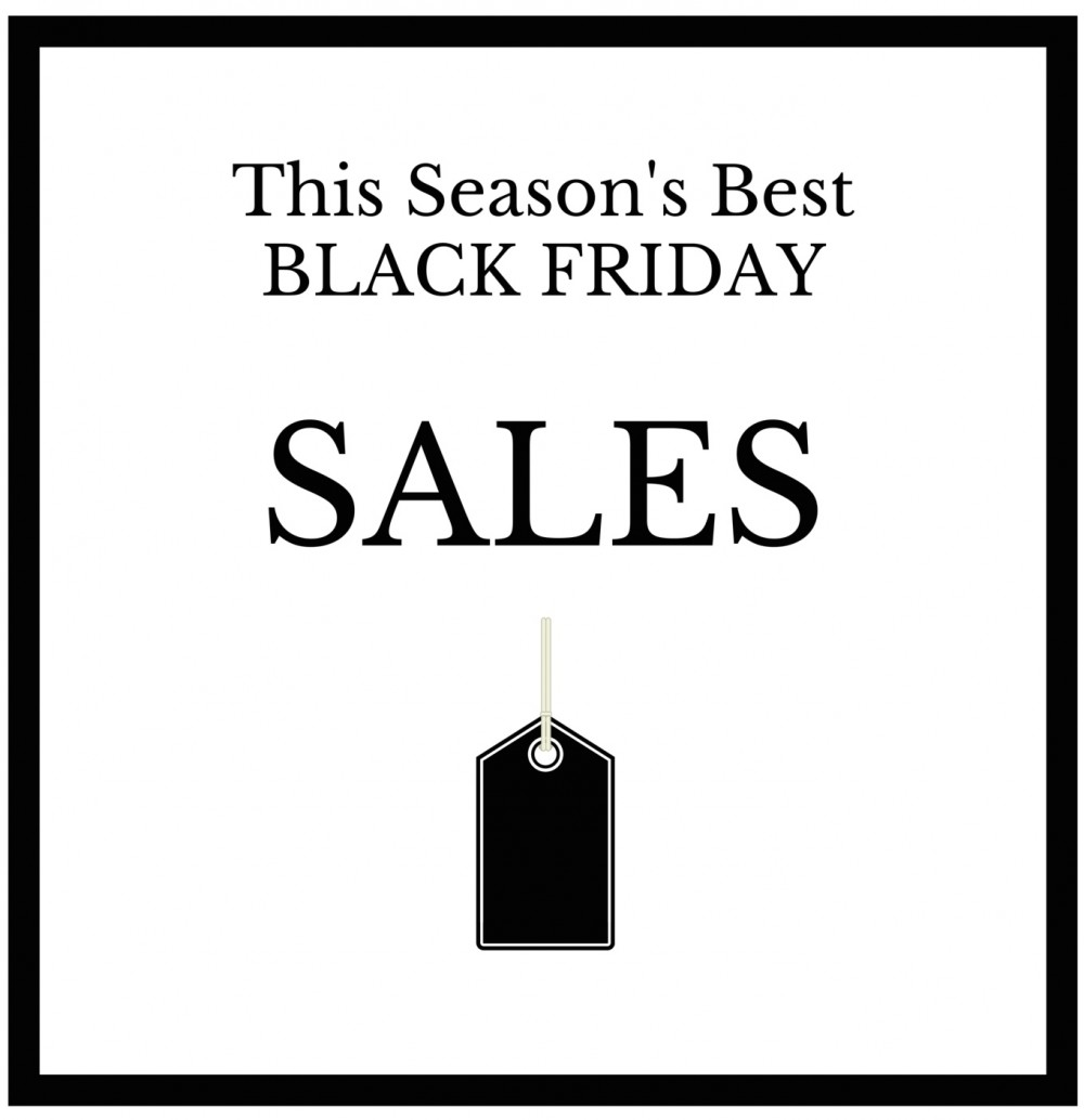 This Season's Best Black Friday Sales
