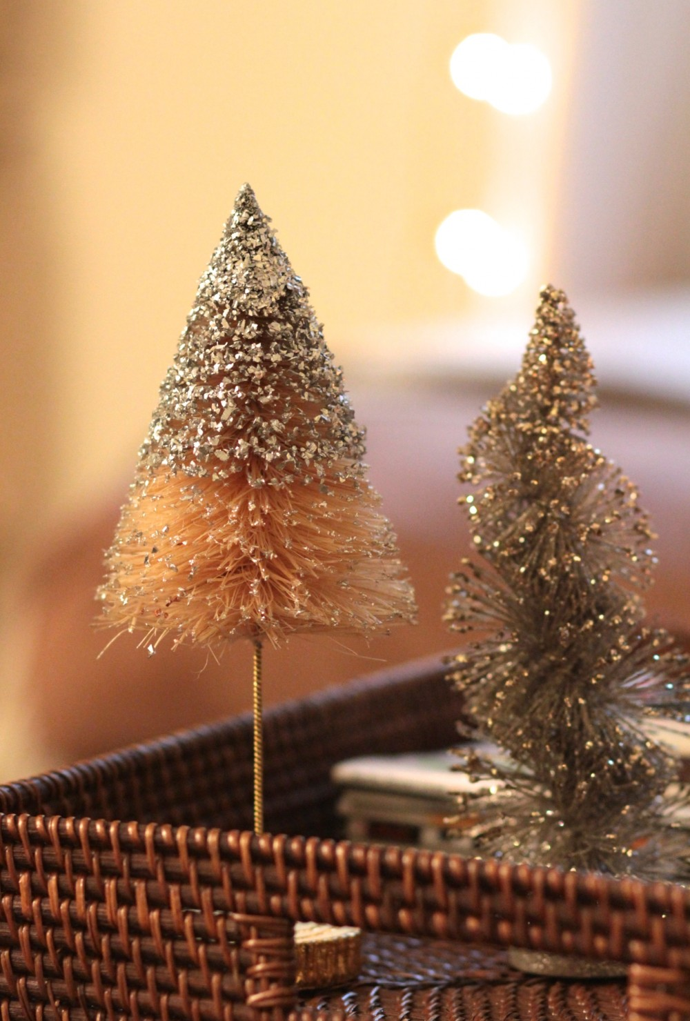 Christmas decorations from Anthropologie