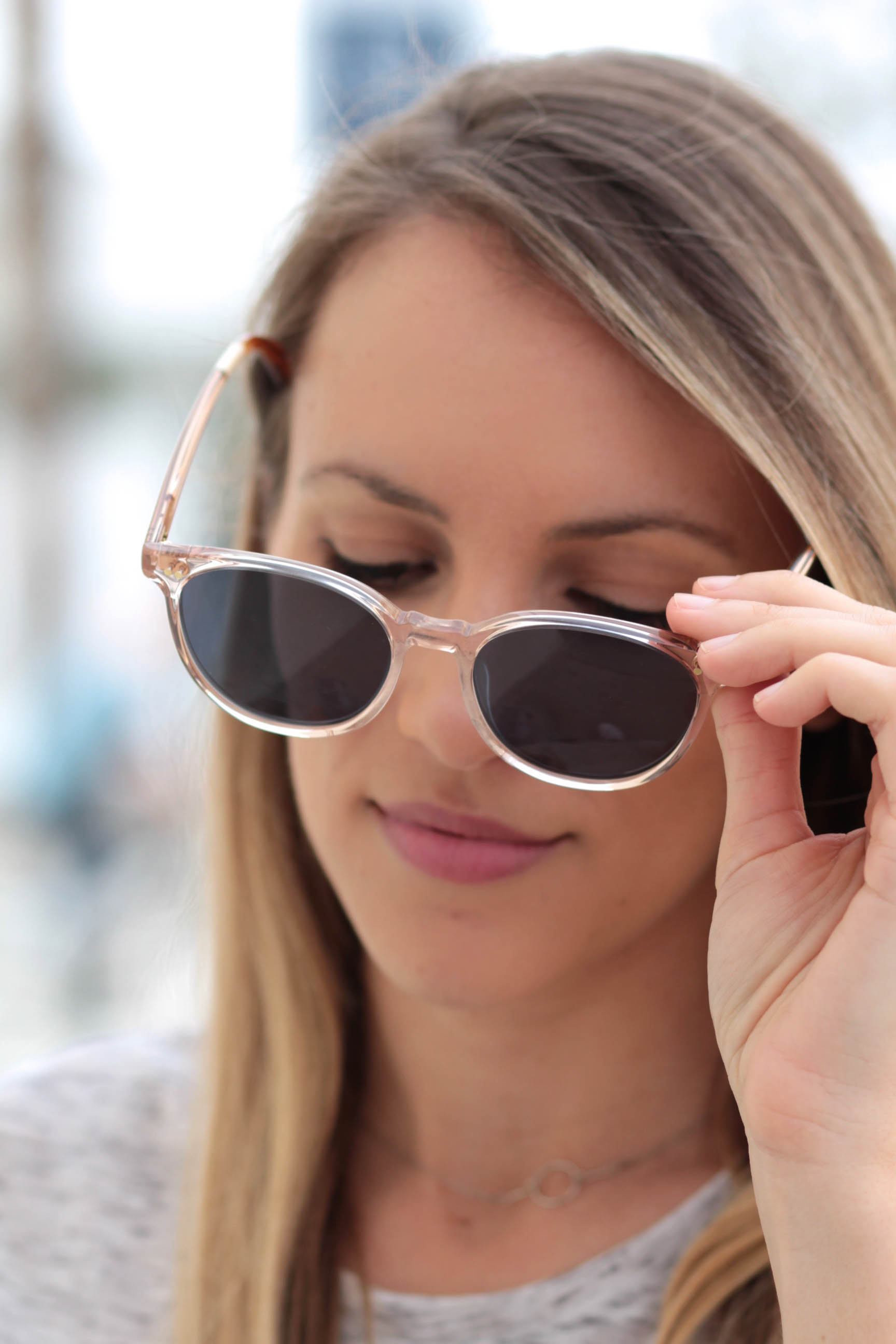 Toms Bellini Champagne Crystal sunglasses | Adorned With Love