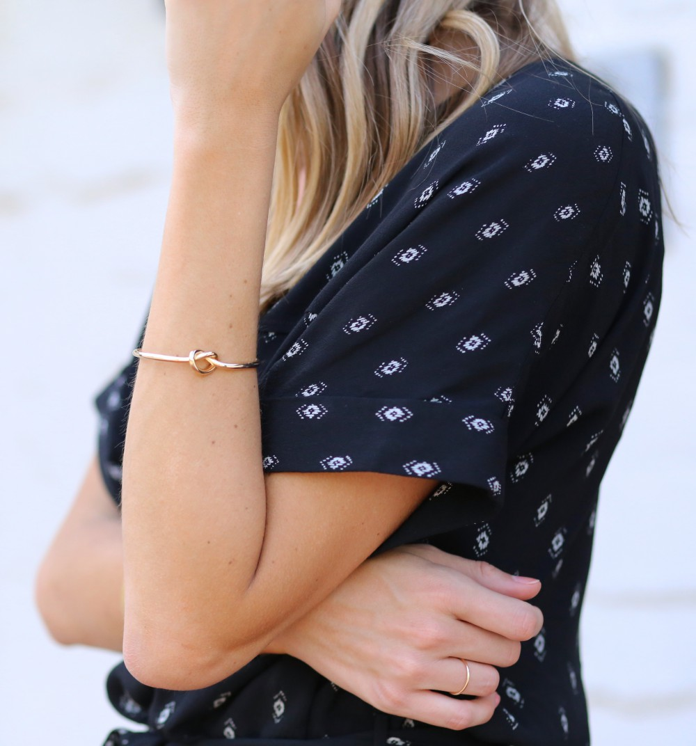 Delicate gold details | Adorned With Love