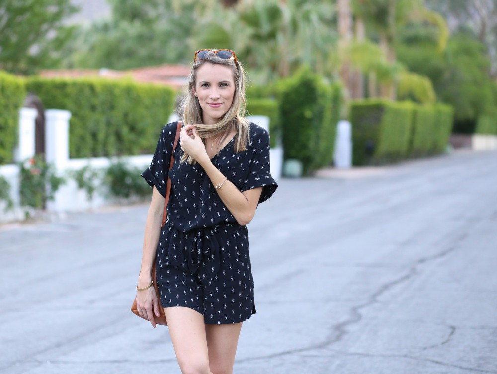Madewell Perimeter Romper | Adorned With Love
