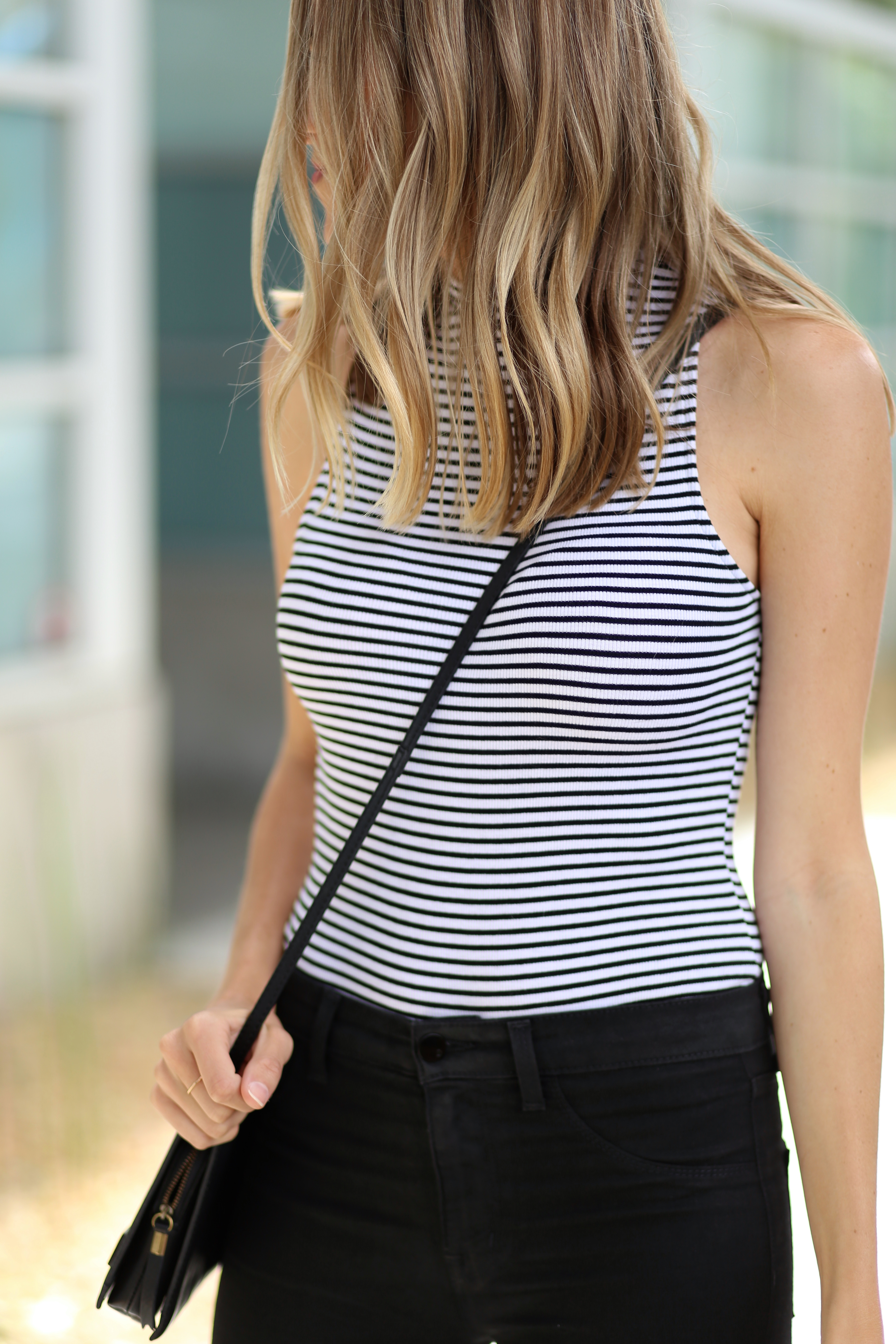 Striped bodysuit   Adorned With Love