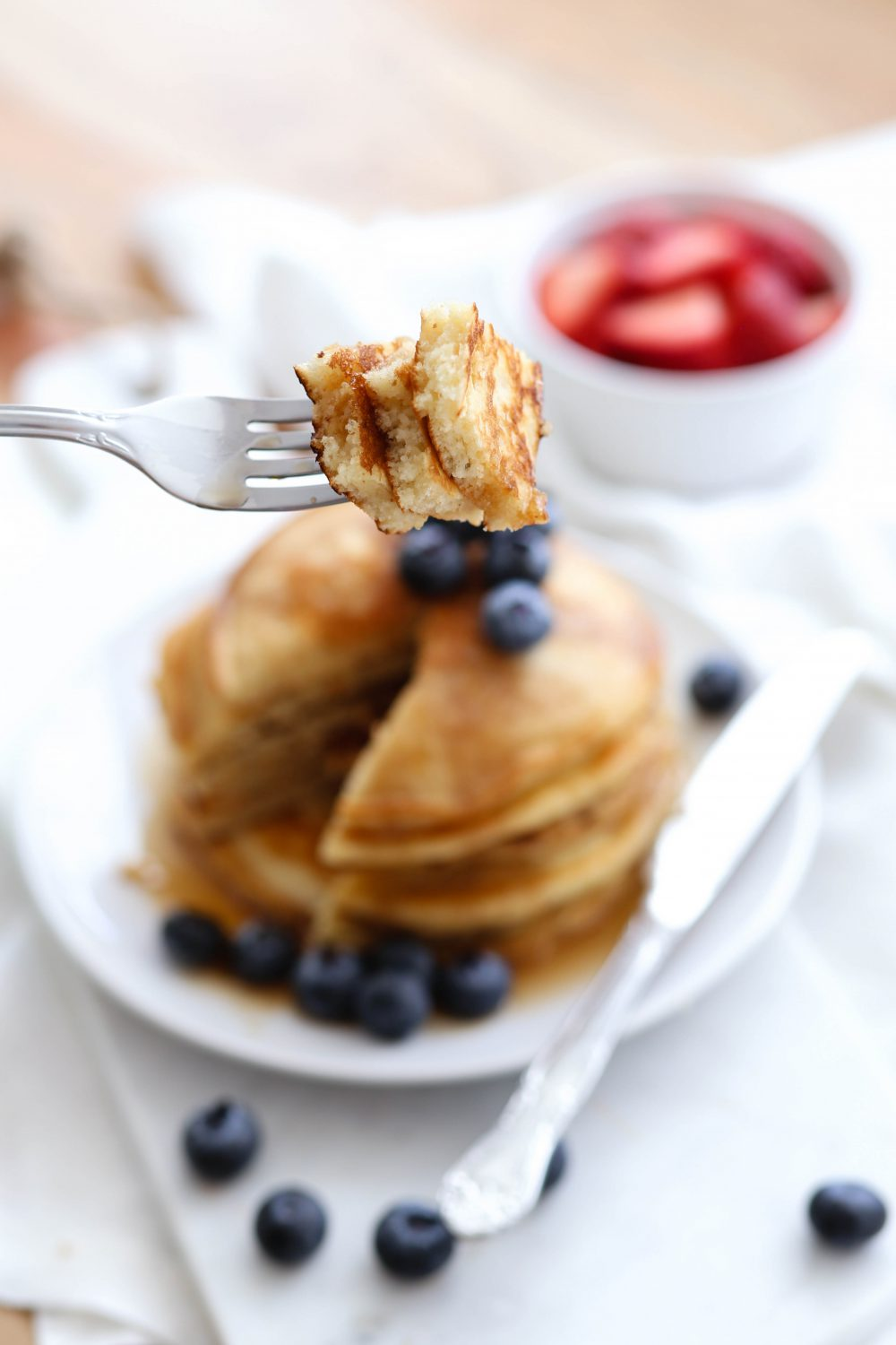Protein-Packed Pancakes | Adorned With Love