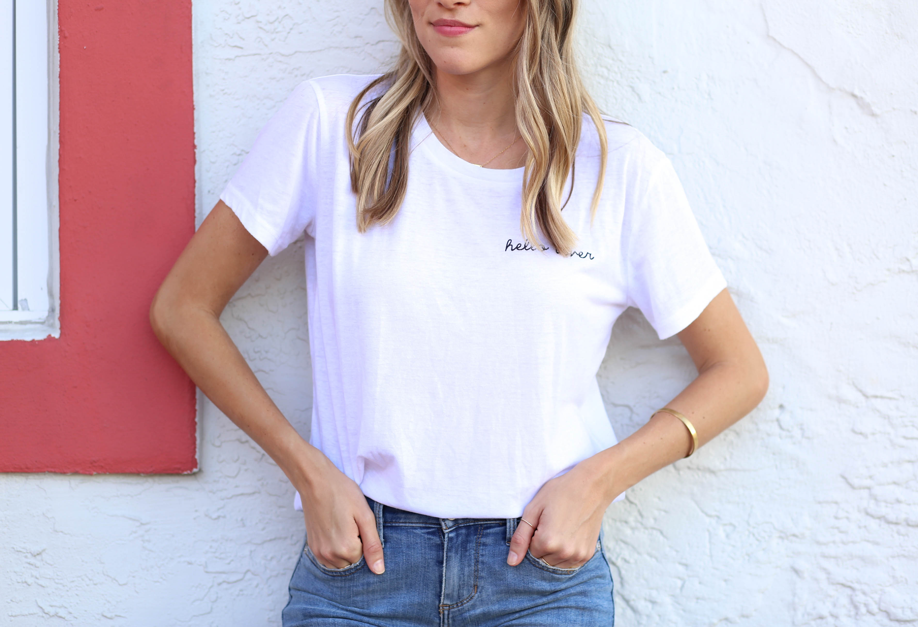 Hello Lover Tee | Adorned With Love