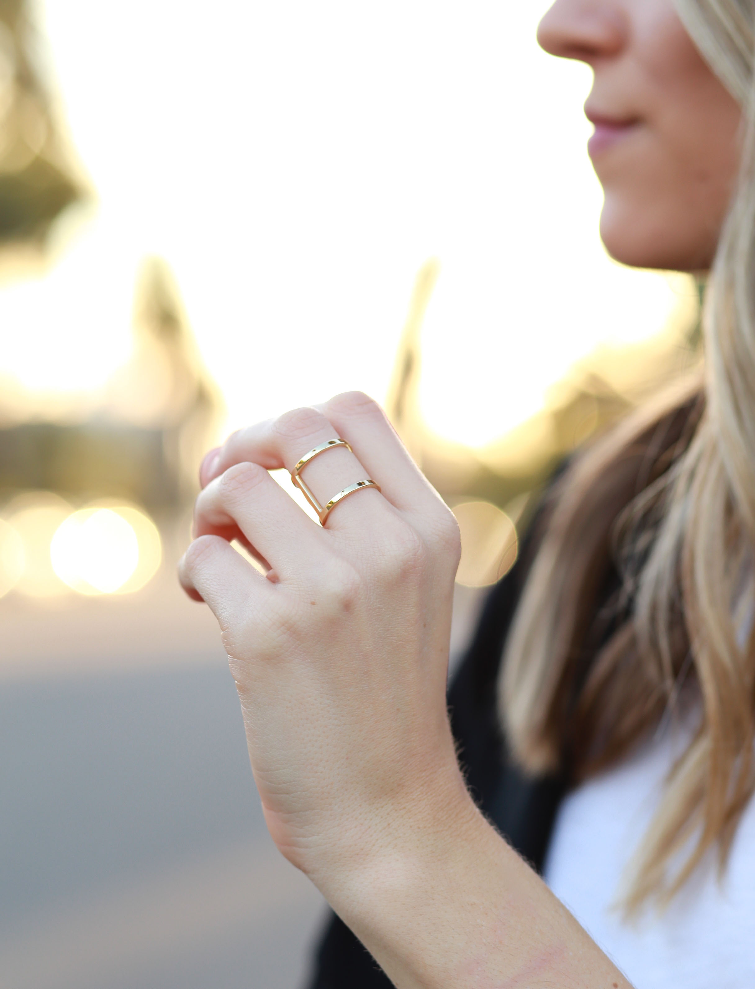 AUrate New York Cylinder Ring via Jenna from Adorned With Love
