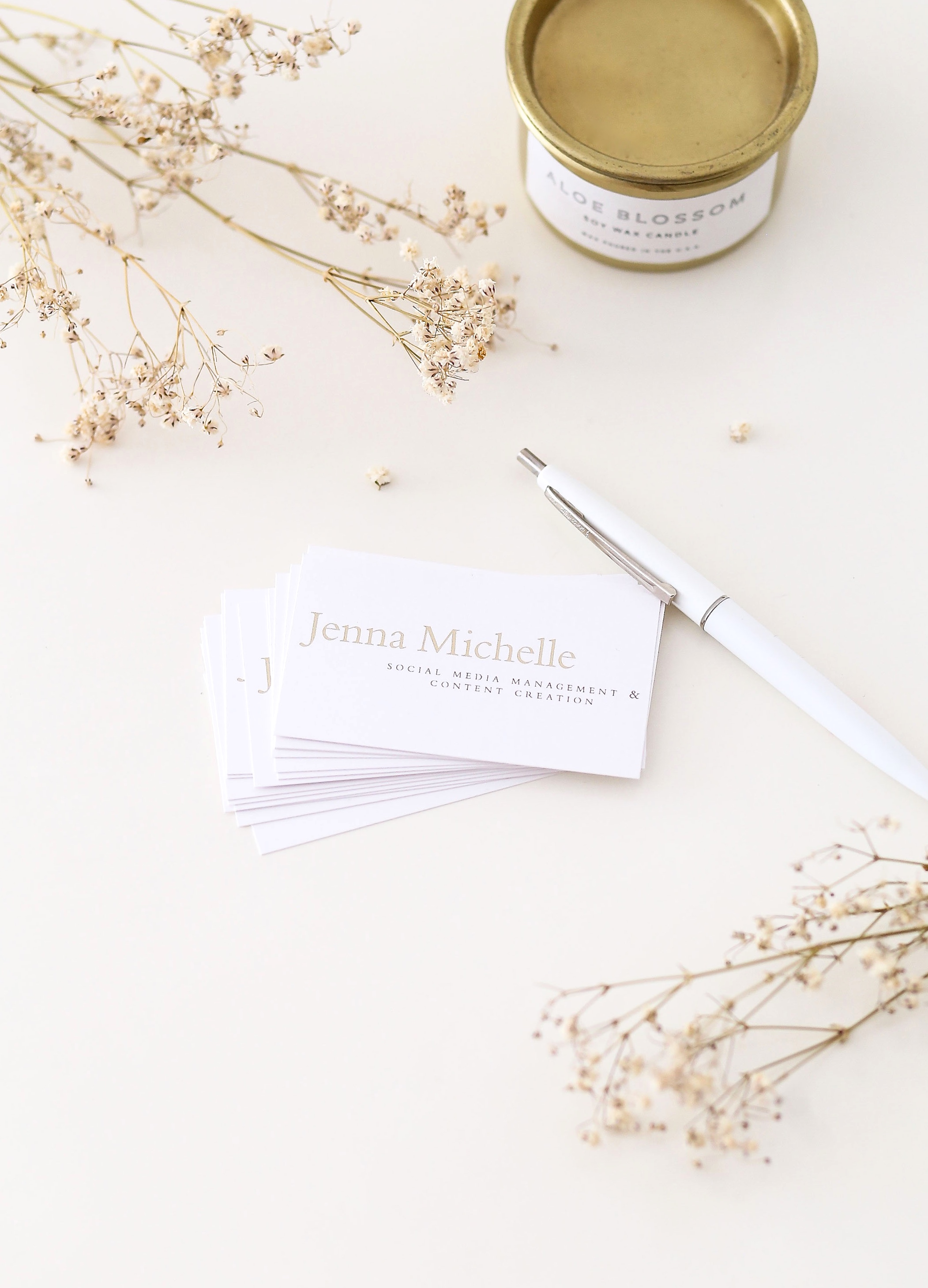 Are Business Cards Obsolete When It Comes To Networking? | Adorned With Love